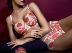 Lilly Rose full-cup bra by Empreinte