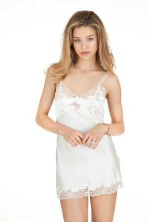 Silk Mini Slip by Only Hearts