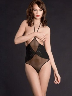 Nuit Blanche high-waist thong