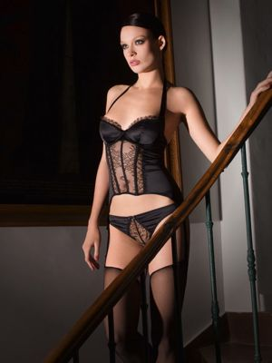 Villa Satine bodice by Maison Close